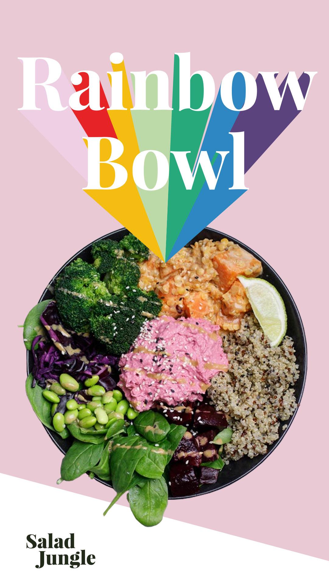 rainbow bowl wien
